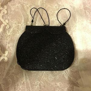 Vintage Art Deco Nouveau Glitter Purse Handbag